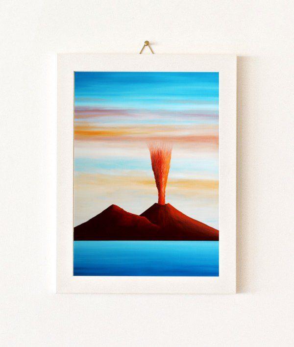 Faro - azzurro e rosso - 027-0
