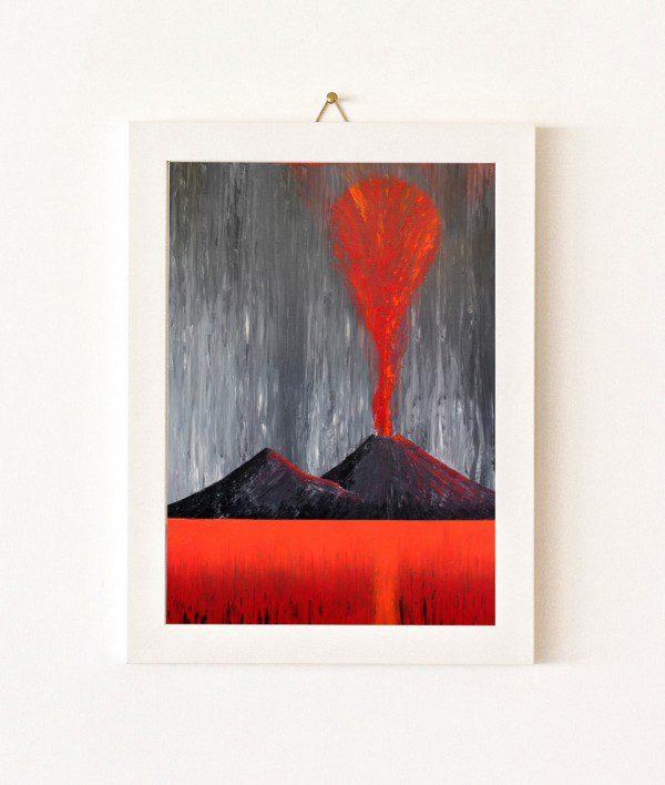 Assoluto - grigio e rosso - 053-0