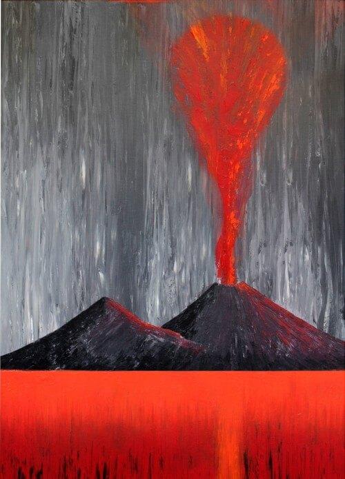 Assoluto - grigio e rosso - 053-3491