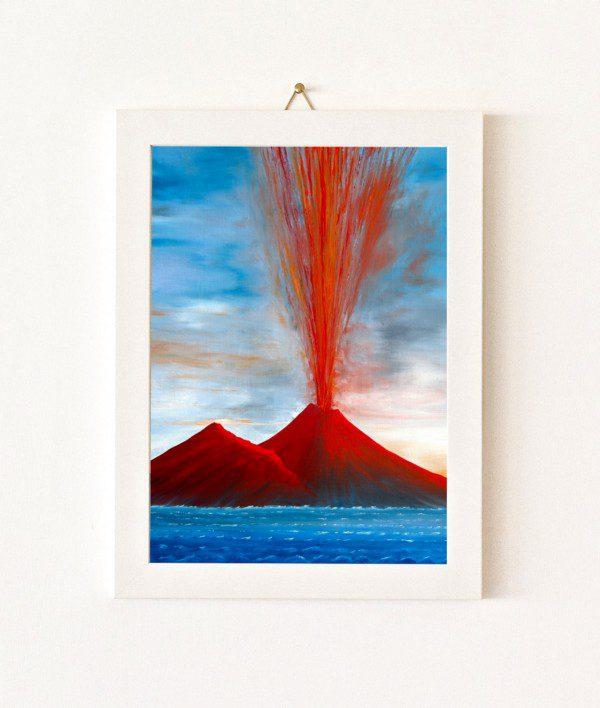 Maestrale - azzurro e rosso - 080-0