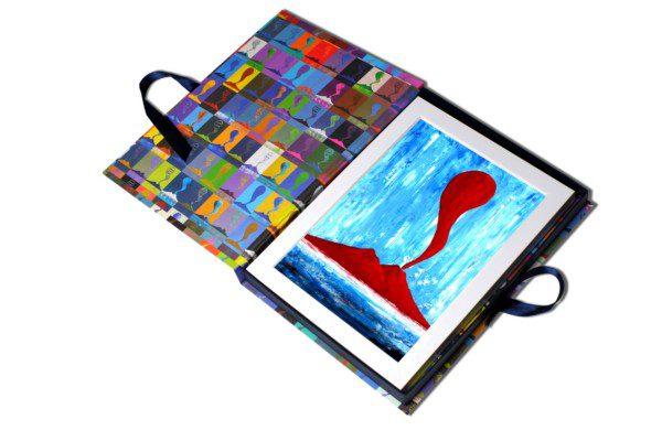 Corno - azzurro e rosso - 138-3255