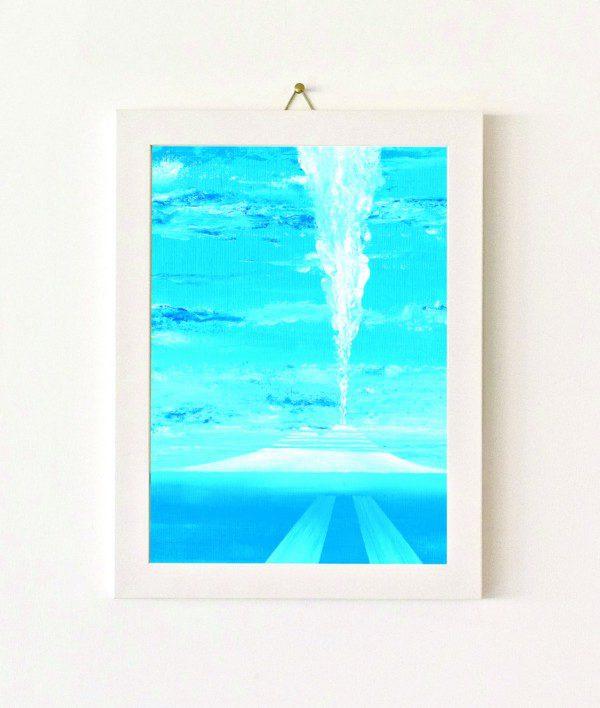Lontananza - azzurro - 356-0