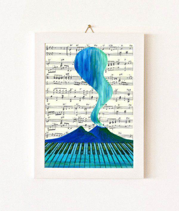 Musicale - azzurro - 394-0