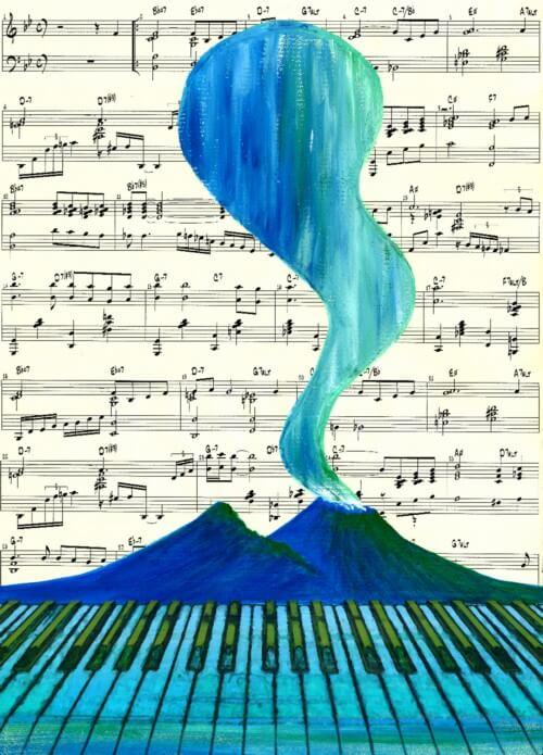 Musicale - azzurro - 394-3743