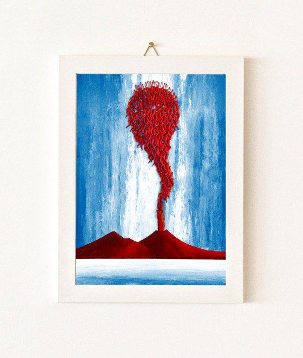 Colpi di Fortuna - azzurro e rosso - 444-0
