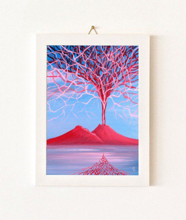 Corallo - azzurro e rosso - 350-0