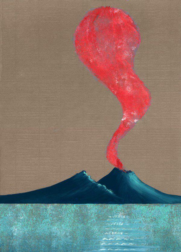 Corno - tortora e rosso - 238-6176