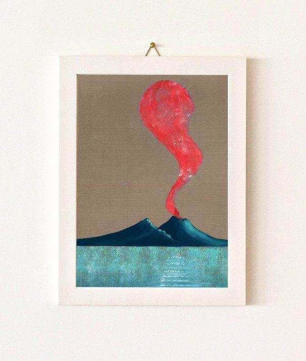 Corno - tortora e rosso - 238-0
