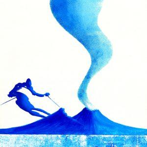Sciatore – Azzurro – 062