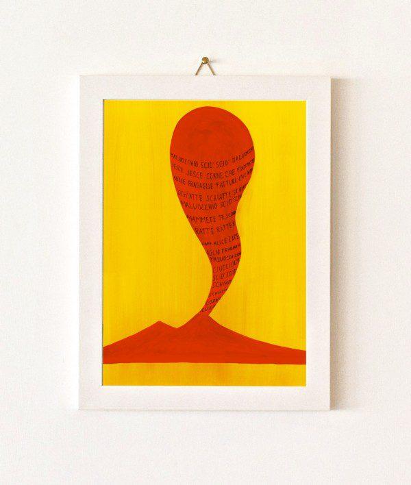 Maluocchio - giallo e arancio - 107-0
