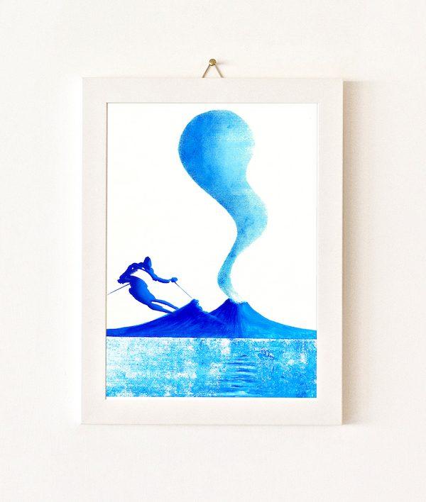 Sciatore - azzurro - 062-0