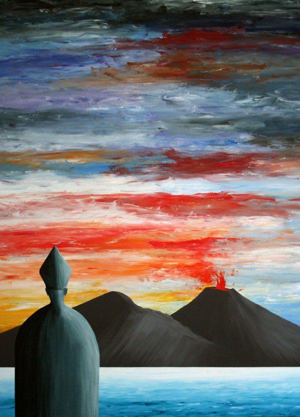 San Gennaro - azzurro e rosso - 201-4371