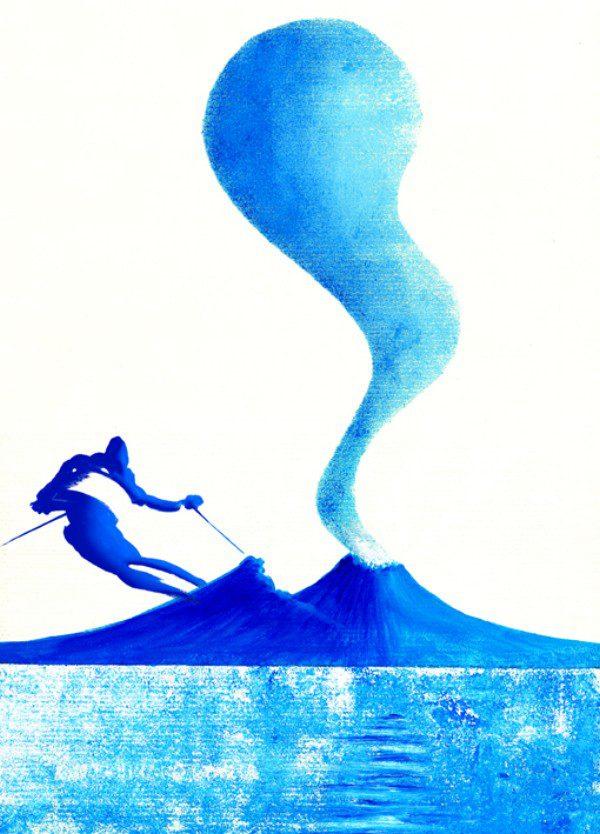 Sciatore - azzurro - 062-4378