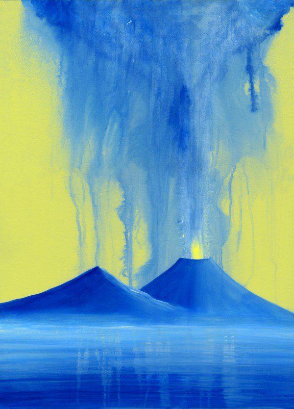 Variazioni - giallo e azzurro - 401-7295