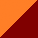 arancio e bordeaux