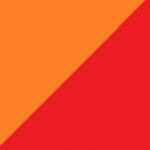 arancio e rosso