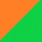 arancio e verde