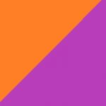arancio e viola