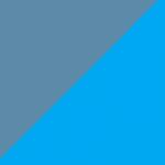 avio e azzurro
