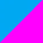 azzurro e fucsia