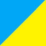 azzurro e giallo