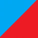 azzurro e rosso