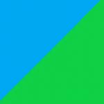 azzurro e verde