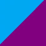 azzurro e viola