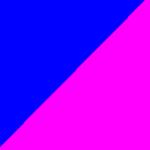 blu e fucsia