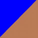 blu e marrone
