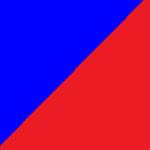 blu e rosso