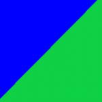 blu e verde