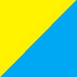 giallo e azzurro