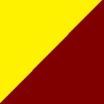 giallo e bordeaux
