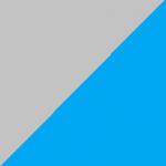 grigio e azzurro
