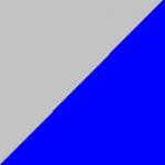 grigio e blu