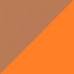 marrone e arancio
