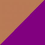 marrone e viola