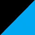 nero e azzurro