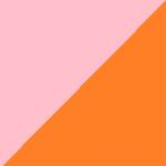 rosa e arancio