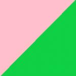 rosa e verde