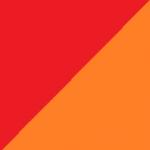 rosso e arancio