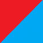 rosso e azzurro