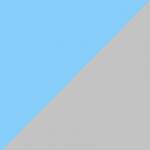 turchese e grigio