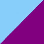 turchese e viola