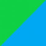 verde e azzurro