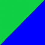 verde e blu