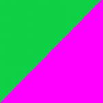 verde e fucsia