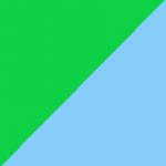 verde e turchese