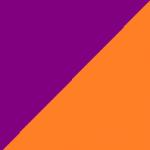 viola e arancio